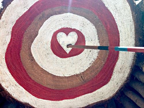 valentines bullseye